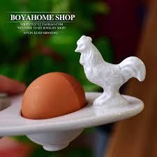ceramic egg plate aliexpress buy creative white ceramic egg plate boat
