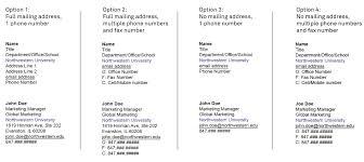 email signature brand tools northwestern university