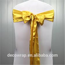 Gold Chair Sashes List Manufacturers Of Chair Sashes Gold Buy Chair Sashes Gold