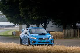subaru impreza wrx 2017 rally driving the goodwood festival of speed hill climb in a 2016 subaru