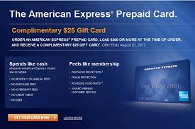 free prepaid cards amex prepaid card 25 amex gift card offer returns