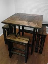 Rustic Pub Table Set Rustic Pub Table Furniture Pinterest Basements Bar And Tables