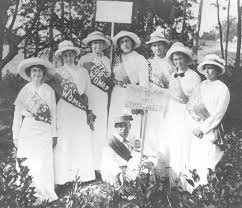 Women's Suffrage – We've Come Along Way Baby!