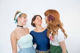 Disney Princess Hairstyles How To Diy Easy Disney Princess Hair For Halloween Brit Co