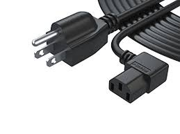 dlp l replacement pwr 3 prong lcd tv ac power cord cable ul listed extra long 12
