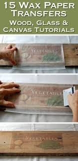 printable wax paper 25 best wax paper transfers ideas on paper