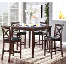 Black Dining Room Table And Chairs by Milo Collection 5 Piece Dining Room Set