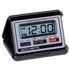 travel alarm clocks images Acurite folding digital travel alarm clock online for sale jpg