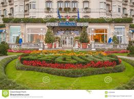 hotel regina palace stresa italy editorial stock photo image
