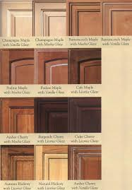 Glazed Kitchen Cabinet Doors Maple Glazed Kitchen Cabinets Wood Door Glazing Exles Cabinet