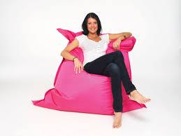 Bean Bag Armchair Grey Black Concentric Stars Polyester Beanbag Chair The Beanbag Boss