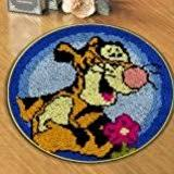 Winnie The Pooh Rug Uk Vervaco Winnie The Pooh Rug Latch Hook Kit Multi Colour Amazon