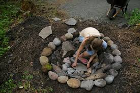 Firepit Rocks How To Make A Pit With Rocks Fireplace Design Ideas