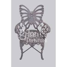 Butterfly Patio Chair 5 Pc Butterfly Patio Set Outdoor Furniture Cast Aluminum