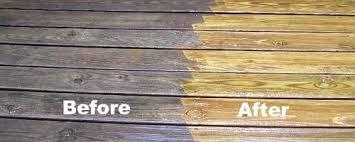 why should i pressure clean my wood deck
