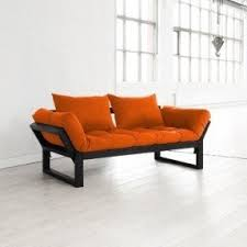 Junior Futon Sofa Bed Orange Futons Foter