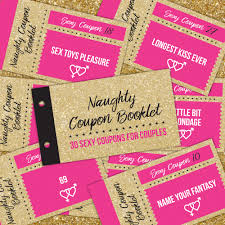 naughty coupon book coupons gift for couple coupon