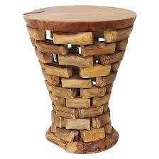 teak wood side table teak wood side table inspired environments