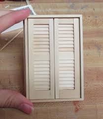 making half scale louvered closet doors the den of slack