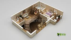 artstation the best modern 3d floor plan rendering california