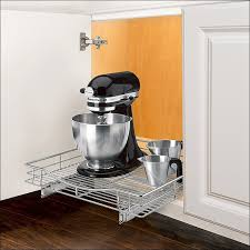 Pull Out Kitchen Cabinet Shelves by Kitchen Under Sink Organizer Pull Out Shelves Under Cabinet