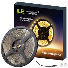 12v flexible 2835 led strip lights warm white for christmas