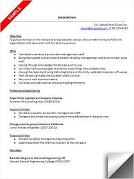 exles of really resumes process engineer resume sle resume exles