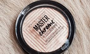 Maybelline Master Chrome review swatches maybelline master chrome metallic highlighter