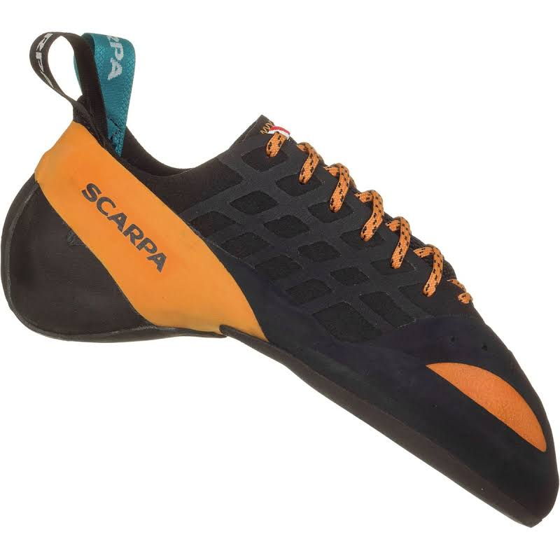 Scarpa Instinct Climbing Shoes Black/Orange Medium 39 70036/000-BlkOrg-39