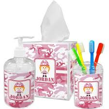 Pink Camo Bathroom Pink Camo Toothbrush Holder Personalized Potty Training Concepts