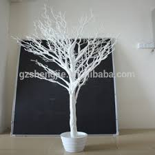 wedding decoration artificial tree artificial white tree for