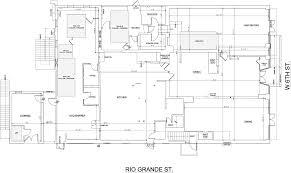 fulcrum building measurement measured drawings of existing floor plan level 1
