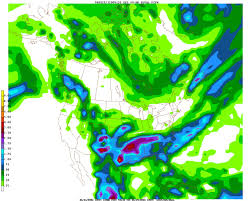 North America Precipitation Map by Noaa News Online Story 2250