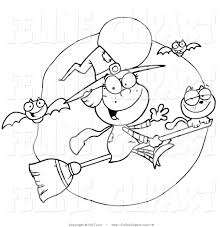 black and white halloween clipart