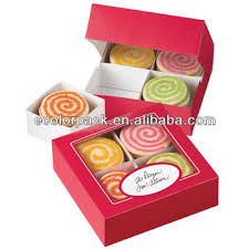 4 sets divided cookie packaging box wholesale buy cookie box
