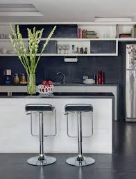 Bars For Home by White Small Bar With Black Top And Chrome Stool On Ceramics