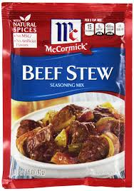 amazon com mccormick beef stew seasoning mix 1 5 oz case of 12