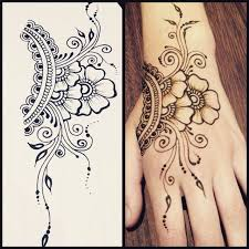 best 25 henna flower tattoos ideas on pinterest lotus flower