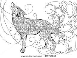 wolf animal coloring wolf wolf coloring coloring book