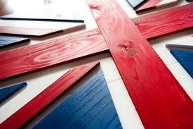 union wood flag patriot wood