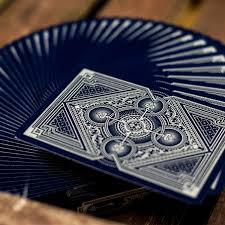 limited edition bicycle cards spirit blue spirit