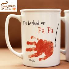 your child u0027s actual prints daddy and grandpa mug for