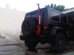 Rugged Ridge Tire Carrier Photos Of Rugged Ridge Off Road Jack Mount Jeep Wrangler Forum