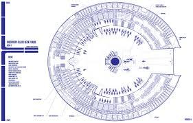 100 spaceship floor plan tmp star trek blueprints general
