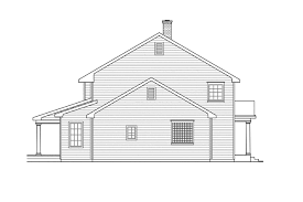 saltbox home colonial house plans kearney 30 062 associated designs
