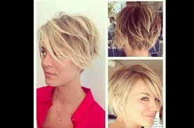 20 layered short hairstyles for women kaley cuoco big bang