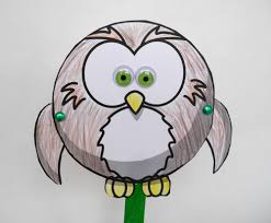 flapping owl puppet craft youtube