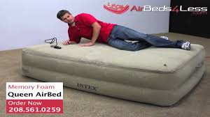 Memory Foam Mattress For Sofa Bed by Memory Foam Air Bed Youtube