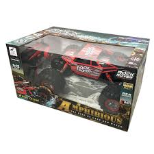 monster jam remote control trucks red rc rock rover amphibious remote control 4wd car truck boat