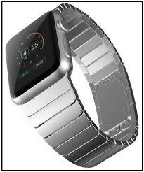 steel link bracelet images 6 best link bracelet apple watch bands elegant tech watch straps jpg